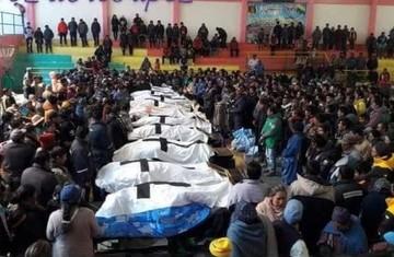Fatal accidente de tránsito deja 11 personas muertas cerca de Cotagaita
