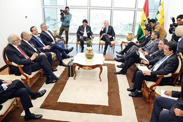 Ex presidentes reivindican unidad  en torno al mar pese a diferencias