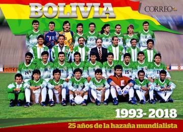 Bolivia revive gesta