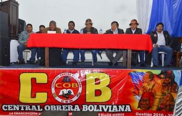COB decide si terciará en primarias del MAS y surge oposición interna