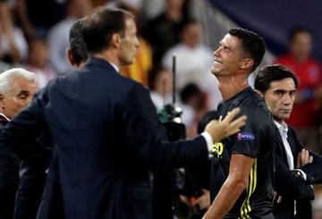 Cristiano Ronaldo, expulsado y en llanto