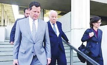 Goni tiene cuatro juicios  con el caso ENFE en el TSJ