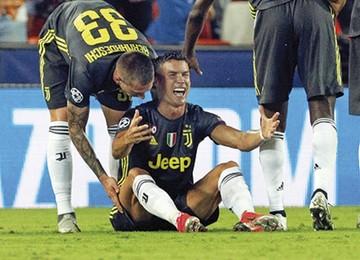 Juventus gana, con diez y sin CR7