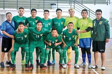 Bolivia cierra una baja campaña en futsal