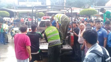 Personas fallecen electrocutadas  en Cochabamba