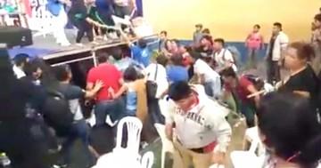 Congreso del MAS acaba en agresiones e insultos