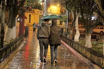 Las lluvias llegan a Sucre pero con poca intensidad