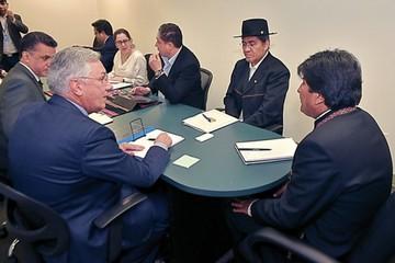 """Optimismo en Bolivia; en Chile se habla de """"aplicar la fuerza"""""""
