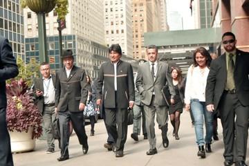 Morales aboga en la ONU  por Cristina, Lula y Correa