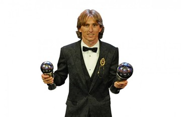 "Modric releva a CR7 y Messi y es ""The Best"" de la FIFA"