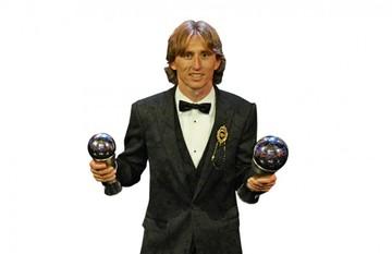 """Modric releva a CR7 y Messi y es """"The Best"""" de la FIFA"""