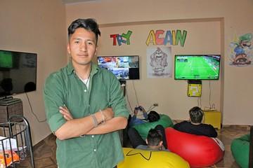 Try Again, sala  de videojuegos que se benefició de plan municipal