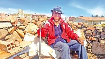 El vigilante centenario de Sucre y su secreto de la longevidad