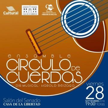Ensamble Círculo de Cuerdas invita a concierto gratuito