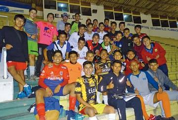 Liga juvenil enfrenta a Chuquisaca y La Paz