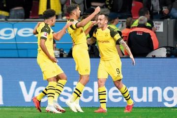 Dortmund es el nuevo líder de la Bundesliga