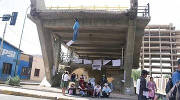 Alistan auditoría de puente colapsado en Cochabamba