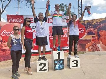 Chuquisaca sube al podio en categoría Máster