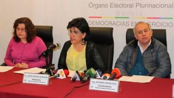 Uriona, Costas y Sandoval son los vocales disidentes al reglamento de las primarias
