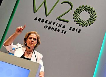 Mujeres del G20 dicen basta a  la desigualdad