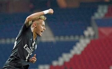 Neymar a un gol de hacer historia en la Champions