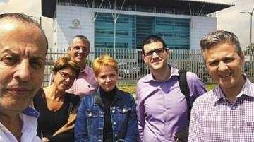 Familiares de las víctimas de LaMia llegan al país por indemnización