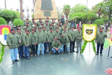 Ex cadetes de la promoción 78 se reúnen luego de 40 años
