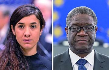 El Nobel premia la lucha contra violencia sexual