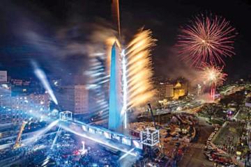 Buenos Aires deslumbra con apertura al aire libre