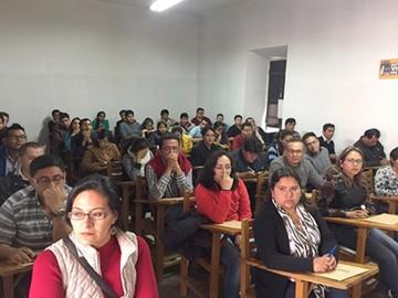 Postulantes a Envibol rindieron examen