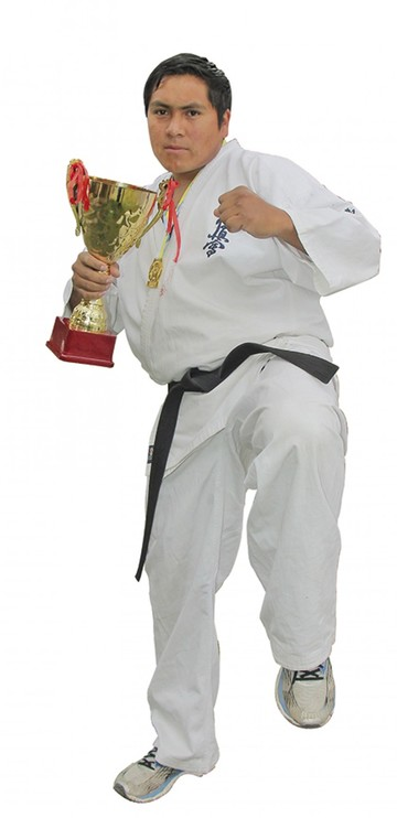 Yvan Zárate El karate como forma de vida