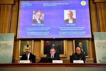Nobel de Economía premia métodos para el crecimiento sostenible