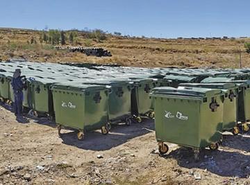 Sucre cuenta con más  de 700 contenedores