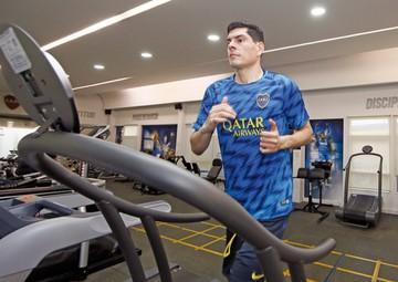Lampe ya trabaja en Boca Juniors