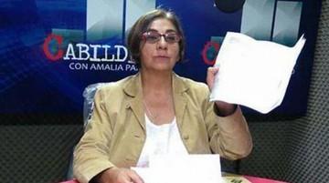 """Mesa considera """"antidemocrática"""" la suspensión del programa de Amalia Pando"""