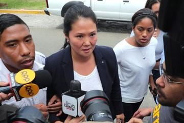 Detienen a Keiko Fujimori por pedido de Fiscalía de Lavado de Activos de Perú