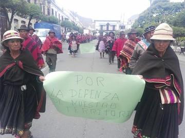 Ayllus de Quila Quila denuncian atropellos en saneamiento de tierras