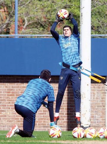 Boca Junior sale  a respaldar al  portero Lampe