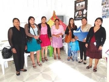 Trabajadoras del hogar reeligieron a la ejecutiva Limachi