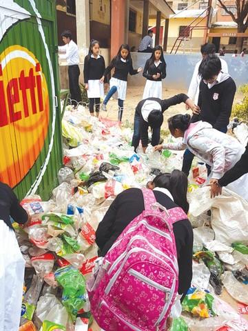 Concurso de reciclaje convoca a más colegios