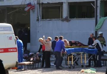 Atentado en un colegio de Crimea deja al menos 18 muertos