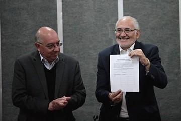 Mesa y 51 plataformas firman alianza y proponen un partido y gobierno de ciudadanos