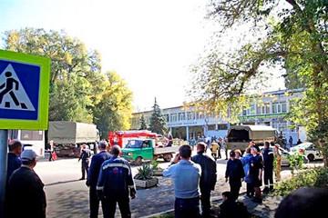 Estudiante mata a 19 personas en un instituto de Crimea