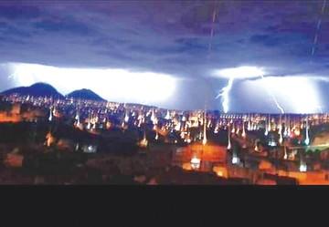 Lluvia y rayos en Sucre no dejaron daños