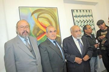 Cuatro artistas exponen sus cuadros