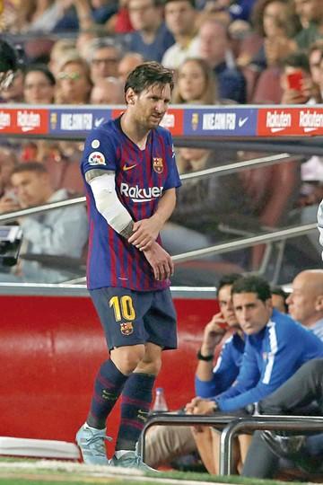 Barza  sin Messi