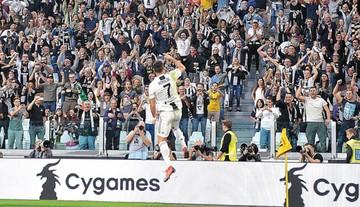Se corta racha ganadora de la Juventus