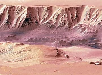NASA cree que aguas saladas en Marte  son vestigios de vida