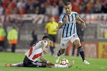 Gremio consigue  un valioso triunfo  sobre River Plate