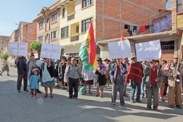 Quila Quila pide retomar saneamiento de tierras